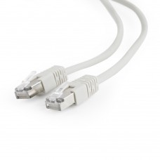 Патч-корд FTP Cablexpert (PP22-20M) литой с защелкой 20м серый