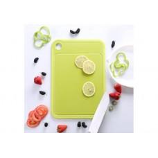 Двостороння кухонна дошка Xiaomi оливково зелена (розмір L)