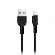 3 метровый шнур HOCO X20 Micro-USB 2A 3m зарядный кабель