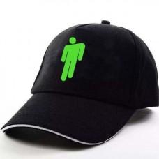 Кепка Billie Eilish Билли Айлиш черная с зеленым