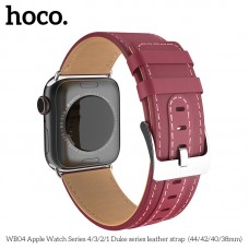 Кожаный ремешок сменный  Apple Watch Series 4 HOCO Duke series  WB04 40mm