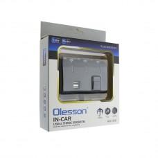 Автомобильный разветвитель OLESSON 1506 адаптер-хаб 12 24в