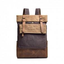 Городской рюкзак Manjian RetroStreet 1548 кофейный