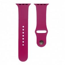 Ремешок Apple Watch 38 / 40 мм силиконовый фусия M (54) Dragon fruit