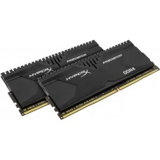 Модуль памяти DDR4 32GB KIT(2x16G) 3000MHz kingston HyperX PREDATOR Black CL15 (box) HX430C15PB3K2/32