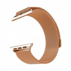 Ремешок Apple Watch 42-44 Milanese Loop Emma orange металлический