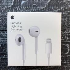 Наушники iPhone 8 X 11 EarPods с коннектором Lightning (MNHF2ZM/A)
