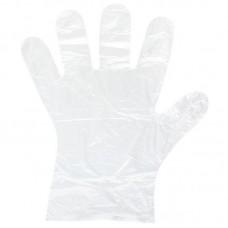 Перчатки полиэтиленовые универсальные 100шт (прозрачные)