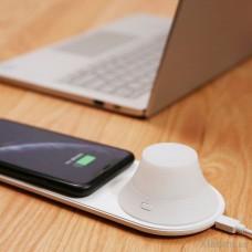 Беспроводное зарядное устройство с ночником Xiaomi Yeelight Wireless