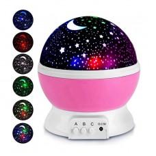Вращающийся проектор-ночник Звездное небо STARMASTER DREAM