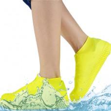 Силиконовые водонепроницаемые бахилы Чехлы на обувь WSS1 S Yellow