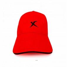 Бейсболка XTRIKE ME красная натуральный хлопок