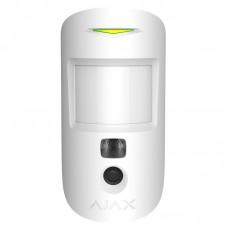 Беспроводной датчик движения Ajax MotionCam белый