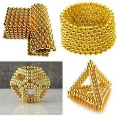 Головоломка Нео куб Neo Cube золотой