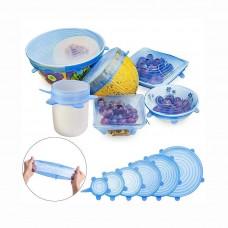 Набор силиконовых крышек (в коробке)