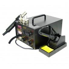 Паяльная станция AIDA 852D+ компрессорная фен и паяльник