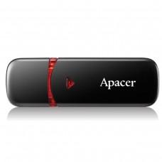 USB 2.0 флеш накопичувач Apacer AH333 64Gb black