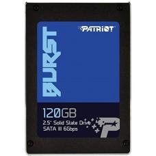 """SSD Patriot Burst 120GB 2.5"""" 7mm SATAIII TLC 3D PBU120GS25SSDR"""