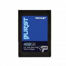 """SSD Patriot Burst 480GB 2.5"""" 7mm SATAIII TLC 3D"""