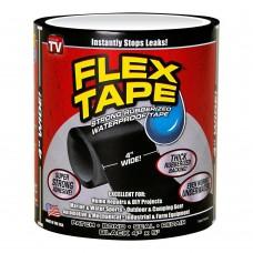Клейкая лента для ремонта Flex Tape усиленная прочная TFSBLKR0405 10 х 150 см