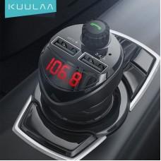 Fm-модулятор Bluetooth приймач автомобільний комбайн все в одному Kuulaa
