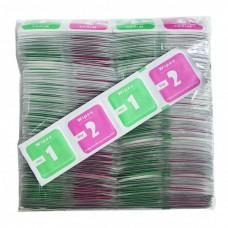 Салфетки для стёкол набор 100 штук комплектов 2-в-1