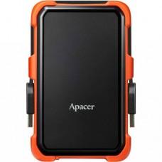 Переносний диск Apacer USB 3.1 Gen1 AC630 2TB 2.5 дюйми Чорно-помаранчевий