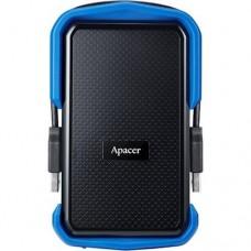 Жорсткий диск портативний Apacer USB 3.1 Gen1 AC631 1TB 2.5 дюйми Чорно-синій