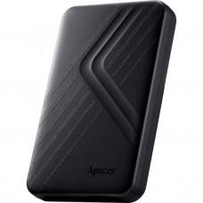 Жорсткий диск зовнішній Apacer USB 3.1 Gen1 AC236 1TB 2.5 дюйми Чорний