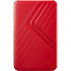 Жорсткий диск зовнішній Apacer USB 3.2 Gen1 AC236 2TB 2.5 дюйми Червоний