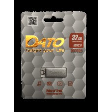 Флеш-диск DATO USB2.0 DS7002 32GB Silver