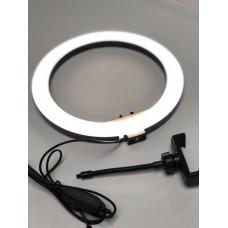 Кільцева лампа Ring Fill 26 см з утримувачем для телефону