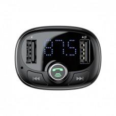 Автомобільний адаптер зарядне Baseus T-typed Wireless MP3 CCALL-TM0A