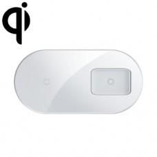 Бездротовий зп Baseus Simple 2in1Pro Edition WXJK-C02 білий