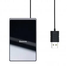 Бездротовий зарядний пристрій Baseus Card Ultra-thin WX01B-01