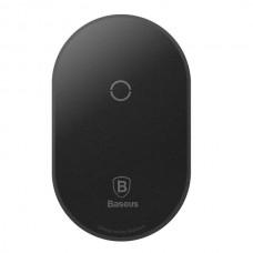 Бездротовий зарядний пристрій Baseus Microfiber Wireless IP Black Модуль для БЗП