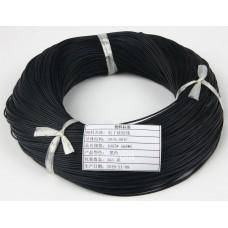 Бухта кабеля провода силиконового 1 жила 26AWG (0.15мм.кв.) чёрный 305 м