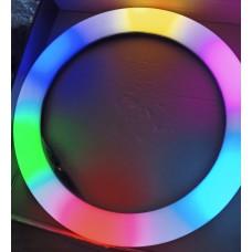 Кольцевая разноцветная лампа soft ring light mj33