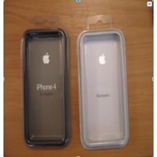 Бампер для Iphone 4 / 4s Белый