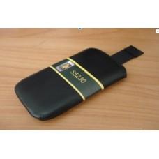 Кисет с лентой матовая кожа iPhone 4G 4S