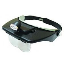 Лупа бинокулярная MG-81001 с Led подсветкой. 1.2Х 1.8Х 2.5Х 3.5Х