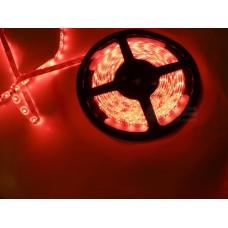 Лента светодиодная в силиконе 5050, 60 светодиодов 5 метров катушка Red