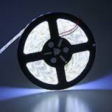 Лента светодиодная в силиконе 5050, 60 светодиодов 5 метров катушка White Cold