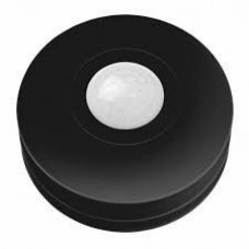 Датчик движения Нло мини 1D черный. 360. расстояние макс. 6м. IP20. макс. нагрузка 1200Вт