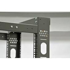 Комплект держателей бокового организатора кабеля с крышкой Mgsesm к стойкам. серый