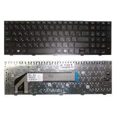 Клавиатура HP Probook 4540S, 4545S черная с серебристой  рамкой