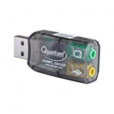Контроллер USB внешняя звуковая карта Atcom 5.1 канальная 3D звук