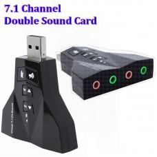 Контроллер USB-sound card 7.1 3D sound Windows 7 ready. Blister