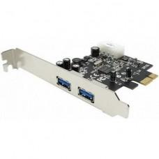 Контроллер PCI-E - Usb 3.0 2-порта адаптер расширитель