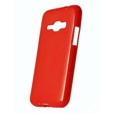 Кейс силиконовый для Samsung J120 красный